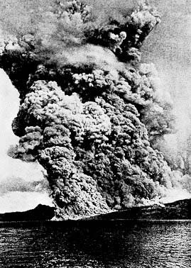 Mt Pelee eruption 1902