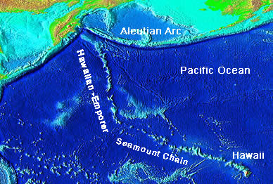 Volcano Picture Glossary Seamount Pacific Ocean Underwater Map